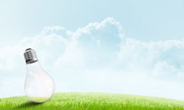 Alternative solar energy concept Royalty Free Stock Photo