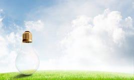 Alternative solar energy concept Stock Photos