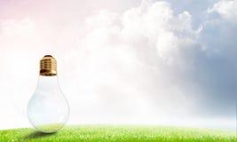 Alternative solar energy concept Stock Photography