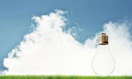 Alternative solar energy concept Stock Photo