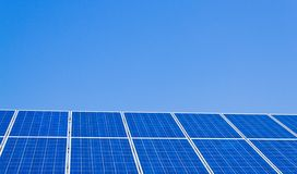 Alternative solar energy. solar energy Stock Image