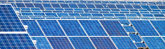 Alternative solar energy. solar energy power Royalty Free Stock Photos