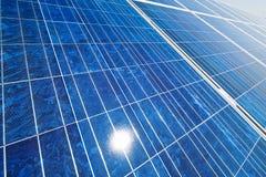 Alternative Sonnenenergie. Sonnenkraftwerk. lizenzfreie stockfotografie