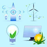 Alternative sources of energy. Stock Photos