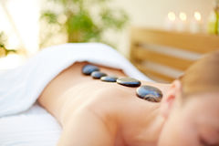 Alternative therapy in spa Royalty Free Stock Photography