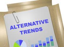 Alternative Trends concept Royalty Free Stock Photos