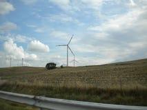 Alternative und gr?ne Energiequelle der Wind-Turbine - stockfotos