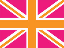 Alternative Union Jack. Vector image of a Union Jack - can be changed to any size or color Stock Images