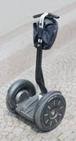 Alternative vehicle - electric scooter Stock Photos