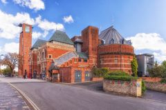 The Royal Shakespeare Theatre, Stratford upon Avon. England. Stock Images