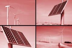 Alternative wind energy Stock Photo