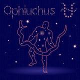 Alternative Zodiac sign Ophiuchus  Stock Photography