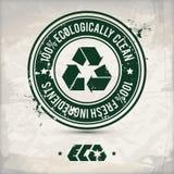 Alternativer eco Kennsatz Lizenzfreie Abbildung