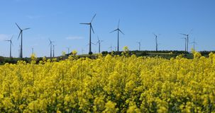 Alternativer Energiemix, Gestellfokus stock video