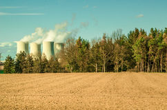 Alternatives to Nuclear energy Stock Photo