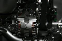 Alternator. Car engine electric metal alternator royalty free stock photo