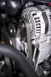 Alternator. Car Alternator Inside Modern Vehicle - Alternator Closeup royalty free stock photos