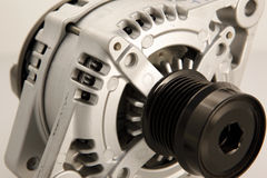 Alternator detail Royalty Free Stock Photos