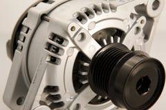 Alternator detail. Generic electric automotive alternator close up royalty free stock photos