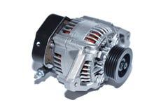 Alternator. New alternator, on white background royalty free stock image
