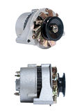 Alternator view Royalty Free Stock Images