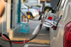 Alternatywa refuel paliwo, CNG, LPG, NGV obrazy stock