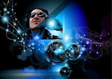 Alternatywna Discoteque Muzyki Ulotka Fotografia Stock