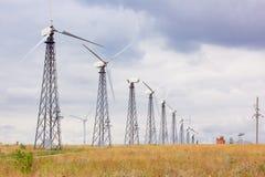 Alternatywna elektrownia Zdjęcie Royalty Free