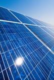 alternatywna energetycznej rośliny władza słoneczna Fotografia Stock