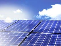alternatywna energia Zdjęcia Royalty Free