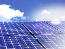 alternatywna energia Zdjęcie Stock