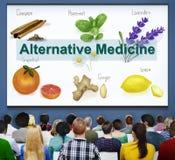 Alternatywnej medycyny zdrowie terapii Zielarski pojęcie Zdjęcia Royalty Free