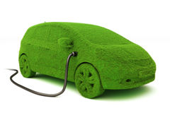 Alternatywny władzy pojęcia eco samochód. Obrazy Stock