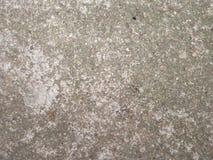 Alternde konkrete Spur Stockfoto