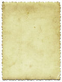 Alterndes fotographisches Papier Stockbilder