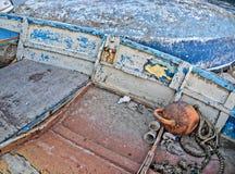 Altersschwache Boote stockbilder