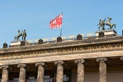 Altes博物馆在柏林,德国 免版税图库摄影