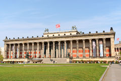 Altes博物馆在柏林 免版税库存图片