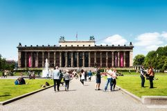 Altes博物馆,柏林 图库摄影