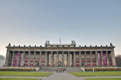 Altes博物馆(老博物馆)在柏林,德国 库存照片