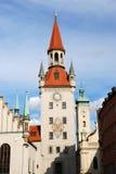 altes慕尼黑rathaus 免版税库存照片