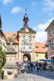 Altes琥珀Rathaus  库存照片