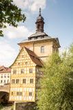 Altes琥珀Rathaus  免版税库存图片
