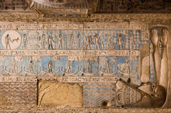 Altes ägyptisches Horoskop Stockfotografie