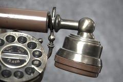 Altes Überlandleitungstelefon lizenzfreie stockbilder