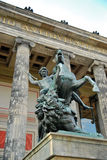 altes μουσείο κληρονομιάς του Βερολίνου Γερμανία ένα κόσμος περιοχών Στοκ φωτογραφία με δικαίωμα ελεύθερης χρήσης