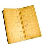Altes Abbildungalbum. stockfotografie