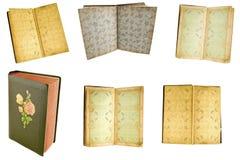 Altes Abbildungalbum Stockfotografie