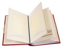 Altes Abbildungalbum Stockbilder