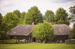 Altes Ackerlandhaus, Litauen Lizenzfreies Stockfoto